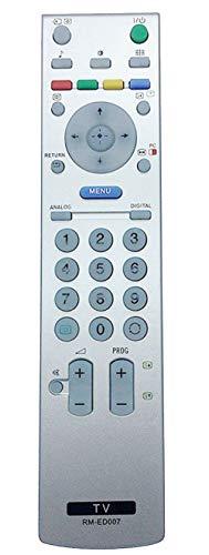 ALLIMITY RM-ED007 Telecomando Sostituisci per Sony LED LCD Bravia TV KDF-50E2000 KDF-50E2010 KDL-15G2000 KDL-20G2000 KDL-20S2000 KDL-20S2020 KDL-26P2530 KDL-26U2000 KDL-32P2530 KDL-32U2000