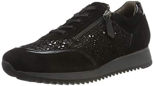 Gabor Damen Comfort Basic Sneaker, Schwarz (Schwarz 37), 41 EU