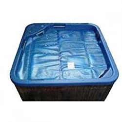 DELUXE 400 MICRON FLOATING SPA COVER HELP KEEP YOUR SPA WARM EXTEND THE LIFE OF YOUR SPA COVER ECO FRIENDLY