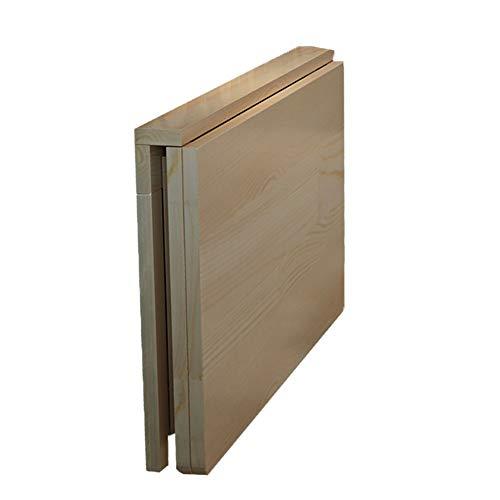 Mesa Plegable, Mesa de Comedor de Bambú de Hoja Abatible de Pared Mesa de Ordenador de Escritorio de Aprendizaje Tablas Plegables de La Tabla de Pared, para Ministerio del Interior/Lavadero