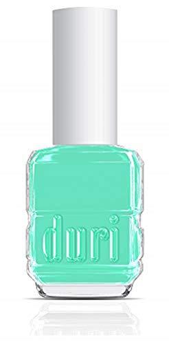 duri Nail Polish, 112S Pie In The Sky, Pastel Mint Green, Semi Matte, 0.5 fl.oz.