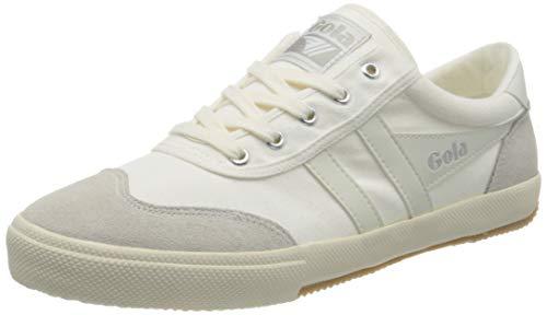 Gola Herren Badminton Sneaker, Off White/Off White/Off White, 46 EU
