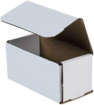 6x3x3 White Corrugated Shipping Mailer Special sale item o Boxes Nippon regular agency Pack Box Packing