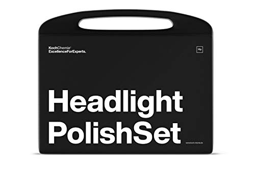 CHEMIE Koch Headlight Polish Set Schweinwerfer-Politur Scheinwerfer Politur