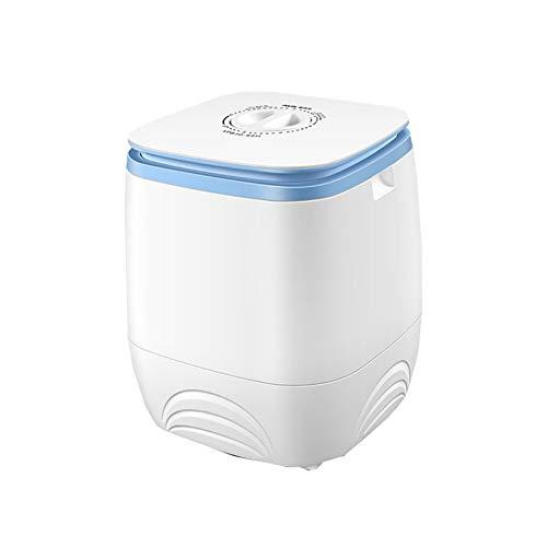 XIAOFEI 3l tragbare Einzelfass-Waschmaschine Halbautomatische Mini-Toplader-Waschmaschine mit großer Kapazität, Einstellbarer Wasch- und Dehydrierungszeit,Weiß