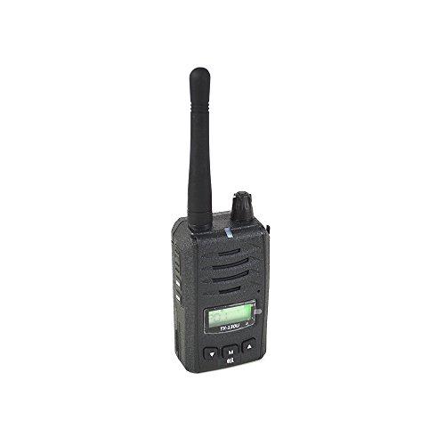 TTi PNI-TTITX130 Tragbarer PMR-Radiosender TX-130U, Akku inklusive 1200 mAh Li-Ion