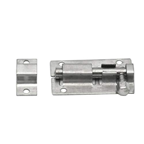 Padlock Hasp Door Clasp Hasp Latch Bolt Lock Latches 304 Stainless Steel 3pcs