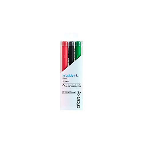 Cricut Penne Infusible Ink Cricut Joy 0,4, nero/rosso/verde (3 pezzi)