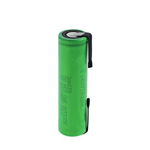 High Drain 30A Us18650vtc4 18650 3,6 V 2100 mAh Batería recargable de litio Soldadura baterías de níquel para linterna Vape 2 unidades