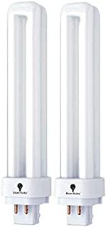 2 Pack 18 Watt Double Tube Bulbs Direct Generic Replacement for PLC Panasonic FDS18E35/4 18W 3500K Warm White Double Tube,...