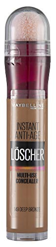 Maybelline New York Instant Eraser Concealer 149 Deep Bronze, 6.8 milliliters