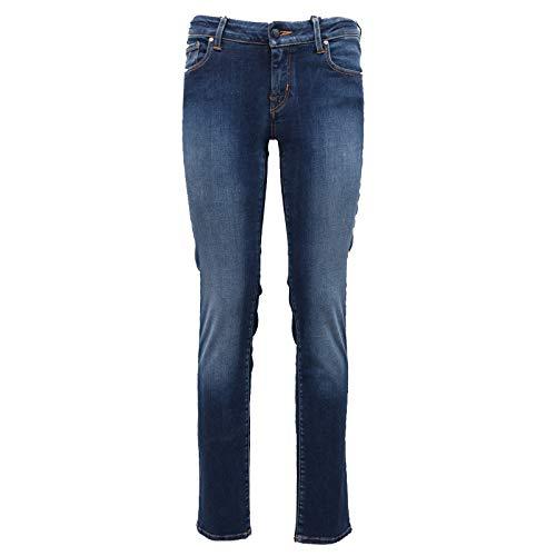 Jacob Cohen 3760Z Pantalone Donna Jocelyn Blue delavè Jeans Woman [32]
