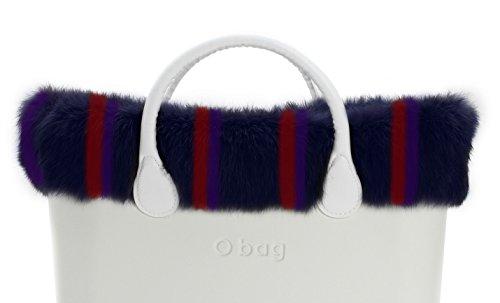 O bag bordo eco lapin multicolor
