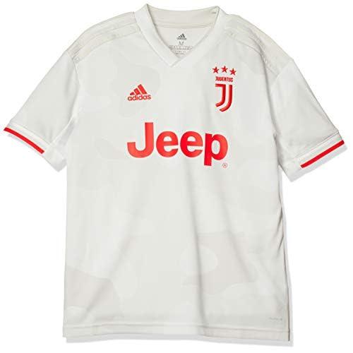 adidas Juventus Away Jersey Yuoth, Maglietta da Calcio A Maniche Corte Bambino, Cwhite/Rawwht, 910A