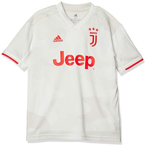 adidas Juventus Away Jersey Yuoth, Maglietta da Calcio A Maniche Corte Bambino, Cwhite/Rawwht, 1112