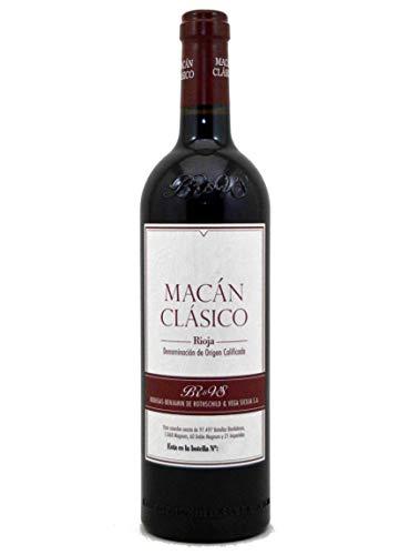 Macan Clasico Tempranillo - Rioja 2016.750 ml