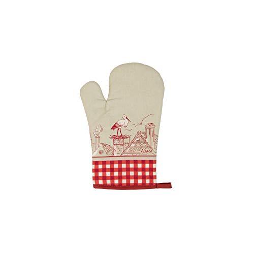 Winkler - Gant de cuisine + Manique - Gant de four - Gant plats chauds - Gant résistance chaleur - Intérieur doux - Accessoire cuisine - Assa