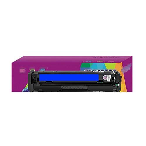 WQJIE Grote capaciteit laser printer toner cartridge kleur, voor HP cf500A gemakkelijk toe te voegen poeder, m254dw m281fdw huishoudelijke 202a toner cartridge, M280nw inktcartridge 203A Retro size Blauw