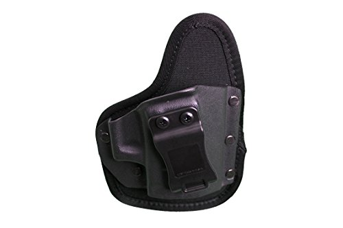 Crossfire Elite EDC Hybrid 2.5' Semi-Auto RH, Waist Band Low Profile Conceal-Carry Holster, Black, One Size (CRF-EDCSA1SF-R)