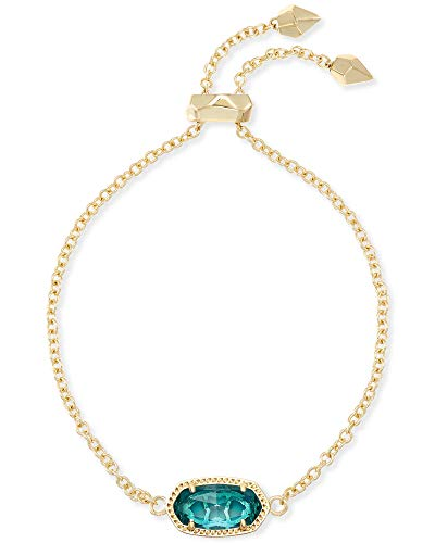 Kendra Scott Elaina Link Chain Bracelet for Women, Dainty Fashion Jewelry, 14k Gold-Plated Brass,...