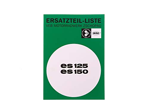 MZA Ersatzteilkatalog Ausgabe 1968 - MZ ES125, ES150