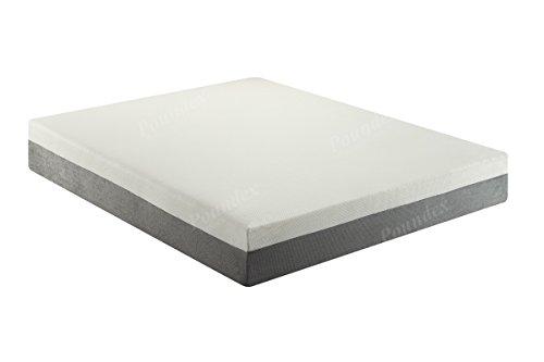 Poundex F8250Q Bobkona Cecilie 10-Inches Memory Foam Mattress, Queen