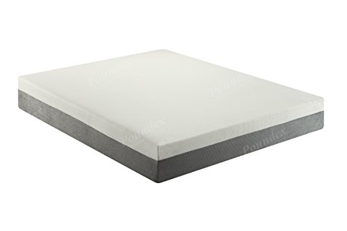 Poundex F8250Q Bobkona Cecilie 10-Inches Memory Foam Mattress, Queen
