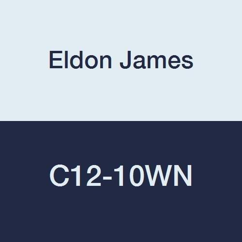 Eldon James C12-10WN Industrial White Reduction Courier shipping free 3 Nylon Ranking TOP15 Coupler