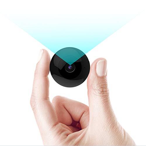 RNNTK Mini Cámara Oculta,con Detección De Movimiento Grabación En Bucle Cámara De Vigilancia Full HD 1080P,Compacto Bolsillo Cámara para Coche Tienda Hogar Grabación De Vídeo