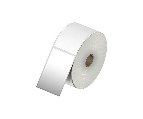 2,25 x 4 Thermo-Transferpapier-Aufkleber – 700 Etiketten pro Rolle – 1 Rolle – für Datamax, Intermec, Sato, TSC, Zebra Thermotransferdrucker