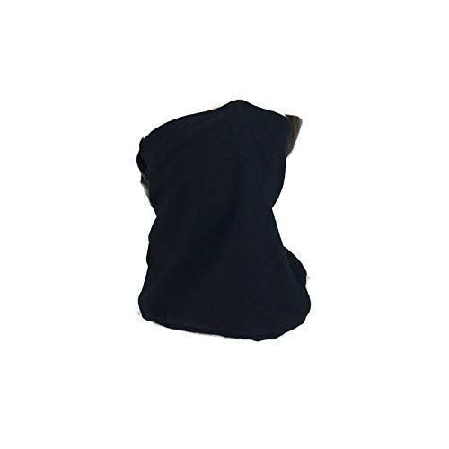 Custom Size Face Covering Metal Nose Wire Neck Gaiter Custom Sizes 100% Cotton Jersey Optional Filter Optional Drawstring Unisex