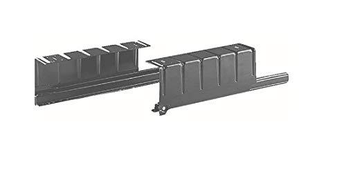 Juego de guías deslizantes con soportes L para tablero extraíble - Portateclado - L350 mm - Carga 35 kg