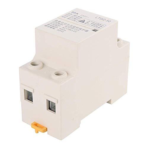 LKK-KK Regolabile Automatic Reconnect sovratensione e sottotensione Relè di Protezione 2P50A