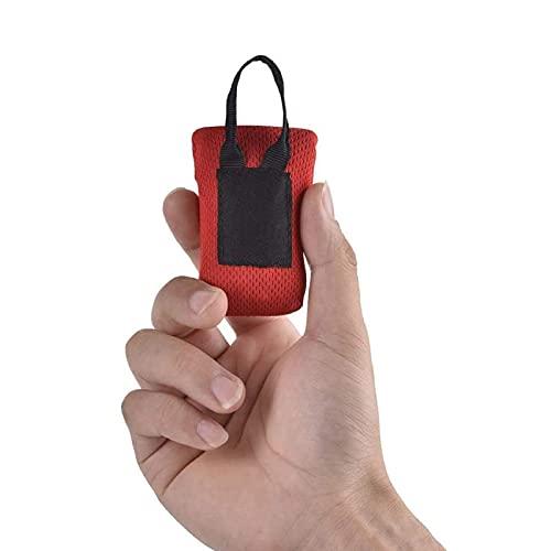 KELE Tapete de playa plegable con bolsillo, mini bolsa de picnic, hecha de nailon, resistente al desgaste (70 x 110 cm), se utiliza para camping, playa, salidas y viajes