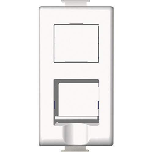 bticino AM5979C5E telefoon/antenne-/stopcontact - contactdozen