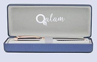 QALAM Luxury Fountain Pen with Deluxe Gift Case | Writing Pen | Calligraphy Pen | Executive Fountain Pens Set | Deluxe Vin...