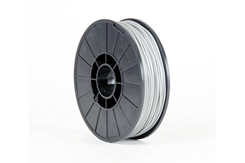 AlephObject NinjaFlex TPE 3D Printer Filament, 0.75 kg Reel, 3 mm, Silver