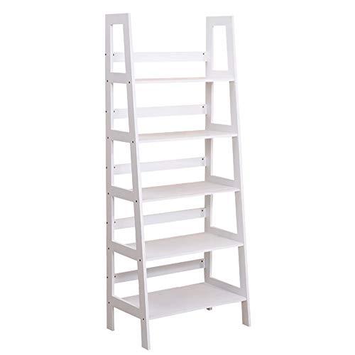 Liuxiaomiao H Ladder Shelf 5 Boekenkast, multifunctioneel, boekenkast, wandkast, voor woonkamer, keuken, kantoor, meubels, eetkamer of woonkamer