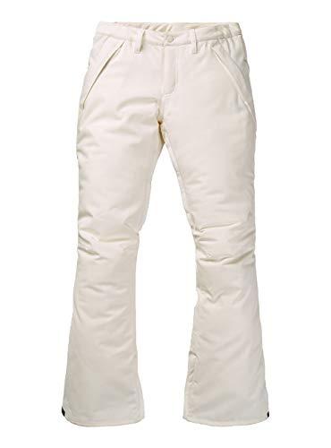 Burton Damen Society Snowboardhose, Stout White, XL