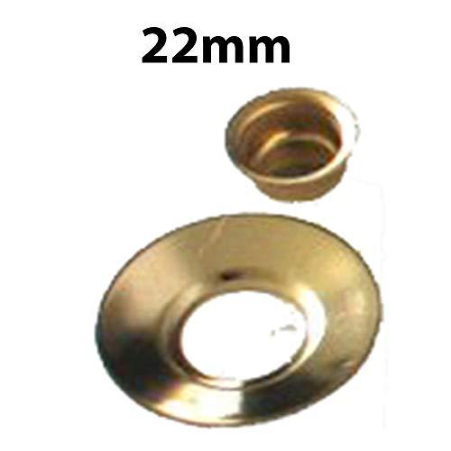 Nickel 10 Stück Kerzentüllen Messingtüllen Kerzenhalter aus Metall (22mm)