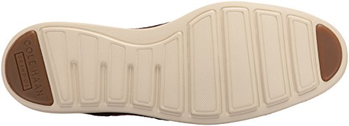 Cole Haan Men's Original Grand Wing Ox Oxford, Chestnut Leather/Brown Plaid/Ivory, 10.5 M US