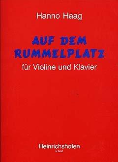 OP DE RUMMELPLATZ - gearrangeerd voor viool - piano [Noten / Sheetmusic] Componis: HAAG HANNO