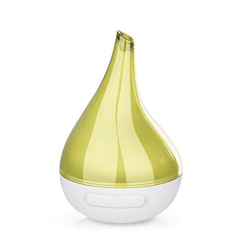 Aromathérapie poêle, chambre aromathérapie silencieuse machine ménage vaporisateur arôme diffuseur créatif gouttelettes d'eau nuit lumière plug-in parfum lampe, 200ml