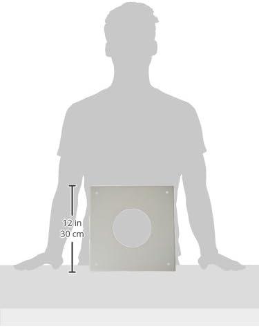 Blanche ISOTIP-JONCOUX 091308 Plaque de Propret/é 300 x 300 Diam/ètre 80