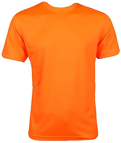 Coole-Fun-T-Shirts NEON loopshirt - fluorescerend - neongeel, neongroen, neonroze, neonoranje XS, S, M, L, XL, XXL