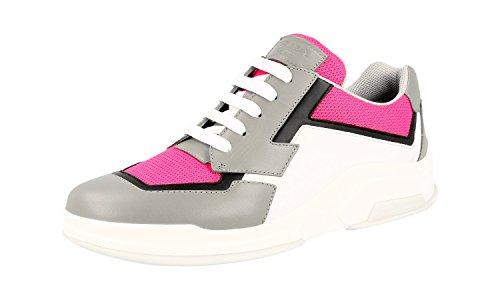Prada Damen Mehrfarbig Leder Sneaker 3E5964 41.5 EU