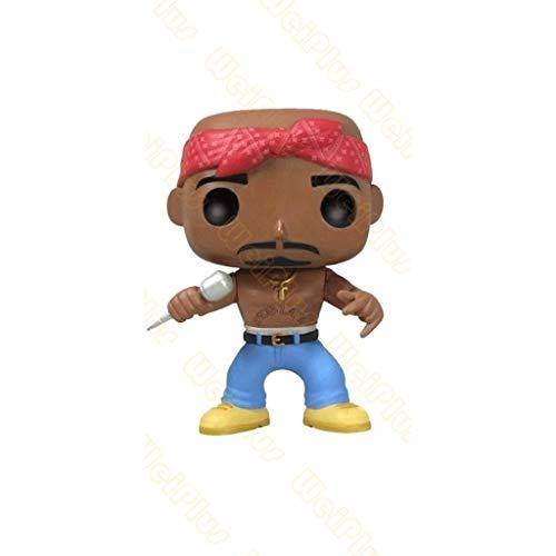 Funko Pop Rocks : Tupac Shakur - Tupac 3.75inch Vinyl Gift for Rap Fans SuperCollection