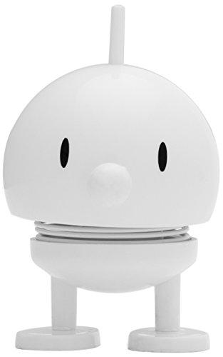 Hoptimist Baby Bumble de plástico ABS Pequeño, color blanco