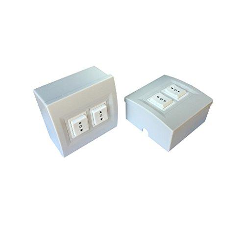Atecnica MP2 - Doble pulsador para persianas y persianas eléctricas 23