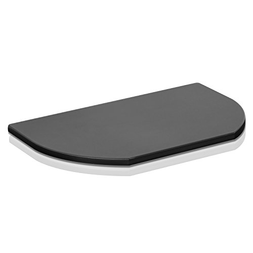 FURINNO Indo Simple Swivel TV Board, No Shelf